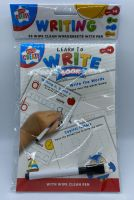 Educational A5 Wipe Clean Book - Write