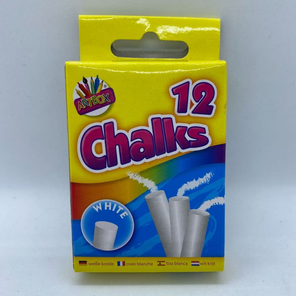 White Chalks - Pack of 12