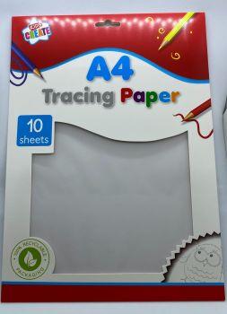 A4 Tracing Paper - 10 Sheets