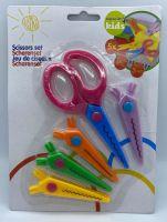 5 Piece Kids Scissor Set