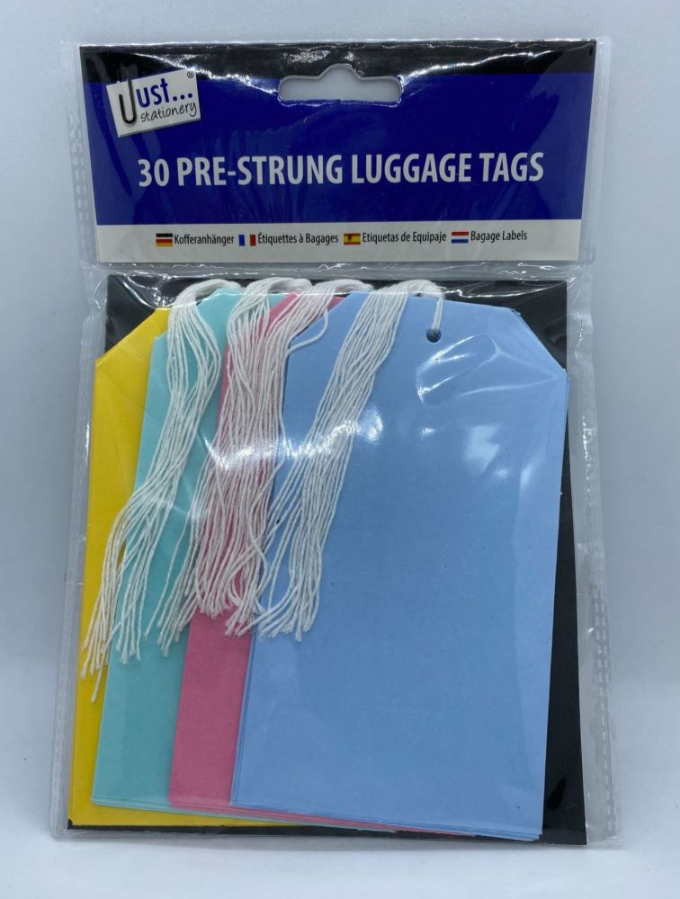 Pack of 30 Luggage Labels