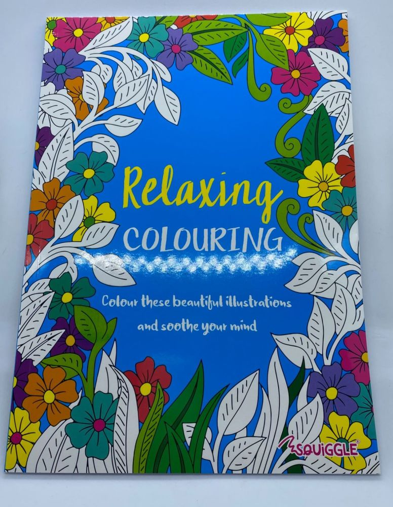 Relaxing Colouring Book