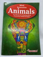 Mind Relaxation Colouring Book - Animals