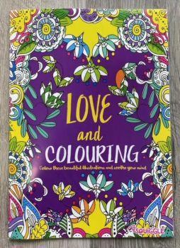 A4 Love & Colouring Book