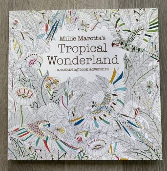Millie Marotta's Tropical Wonderland Colouring Book