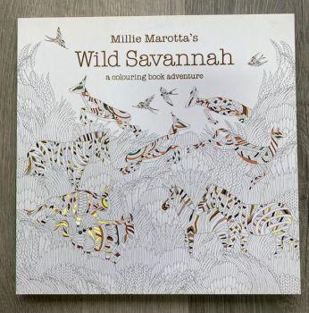 Millie Marotta's Wild Savannah Colouring Book