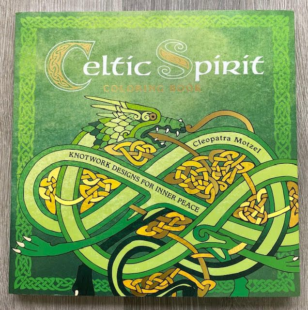 Celtic Spirit Colouring Book