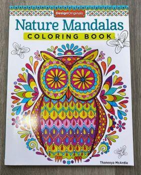 Nature Mandalas Colouring Book