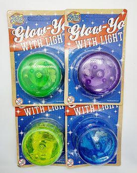 Colourful Glowing Yo Yo With Light