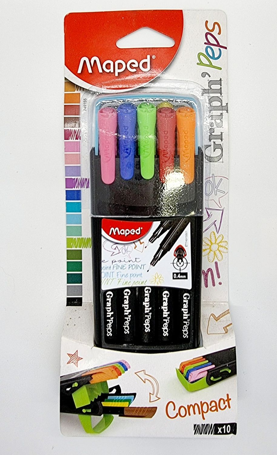 Maped Graph Peps Duo Fineliners
