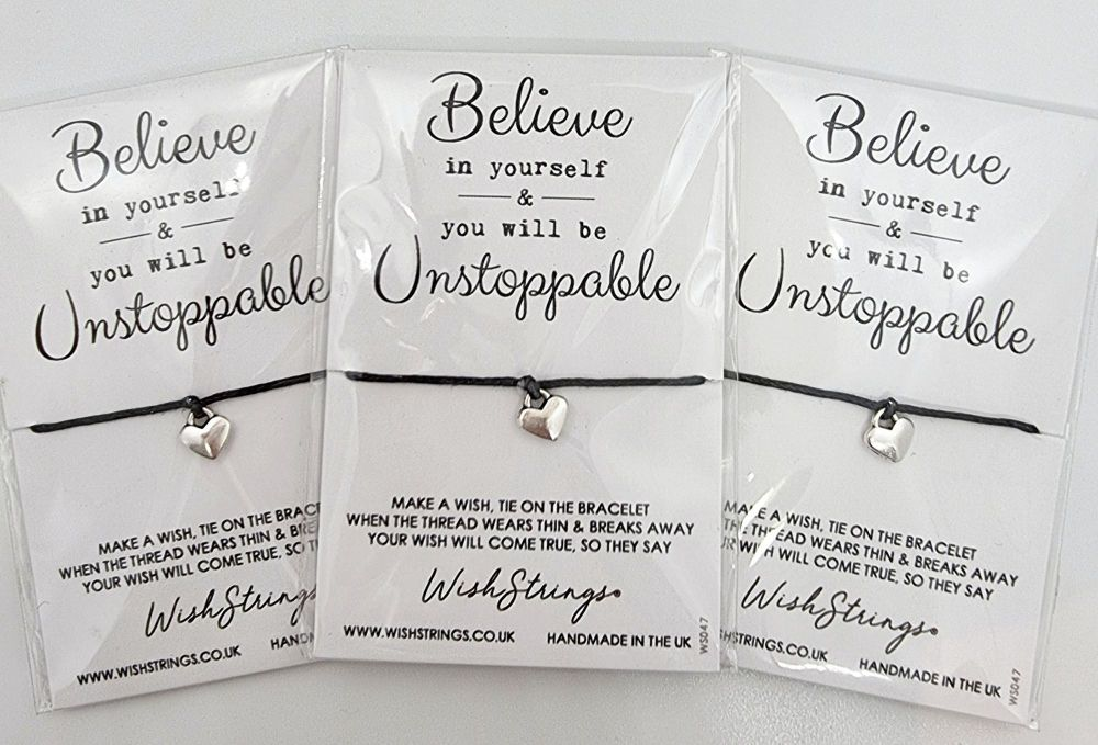 Wish Strings Bracelet - Believe In Yourself ...