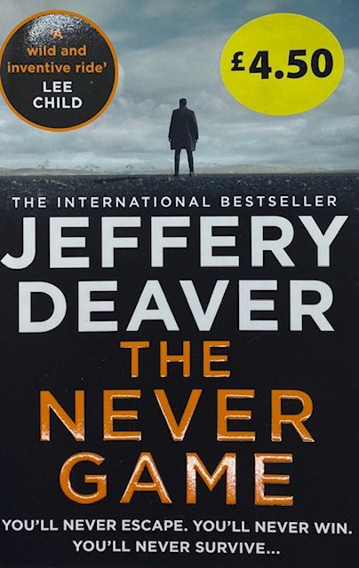 The Never Game - Jeffery Deaver