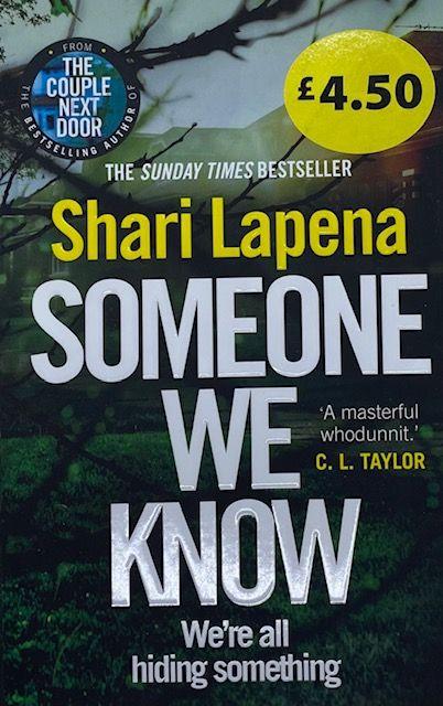 Someone We Know - Shari Lapena