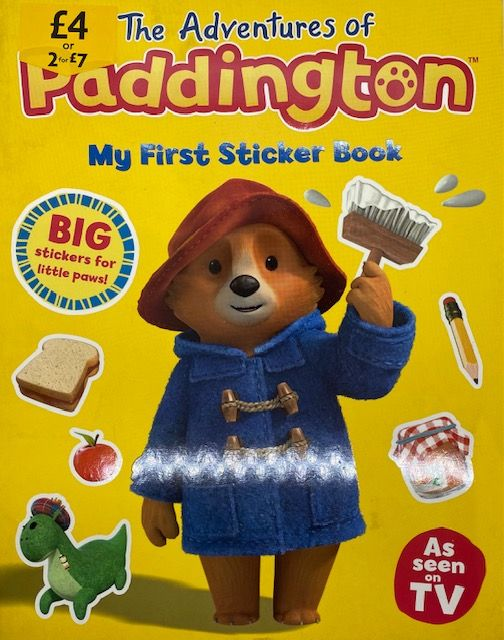 The Adventures Of Paddington - My First Sticker Book