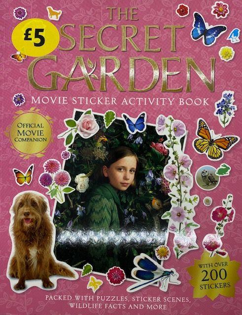 The Secret Garden - Movie Sticker & Activity Book