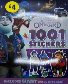 Onward - Disney Pixar 1001 Sticker Book
