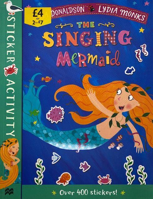 The Singing Mermaid - Sticker & Activity Book
