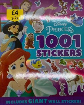 Princess - Disney 1001 Sticker Book