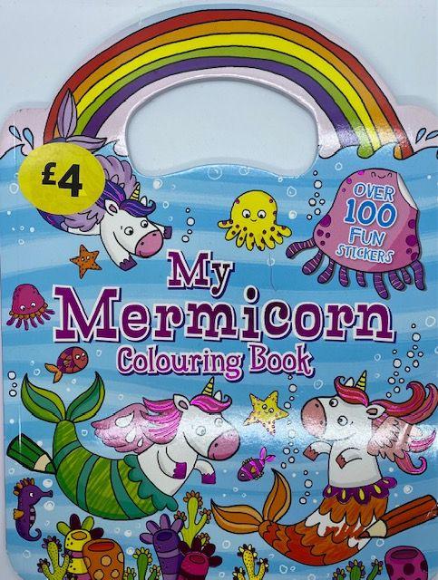 My Mermicorn Colouring Book