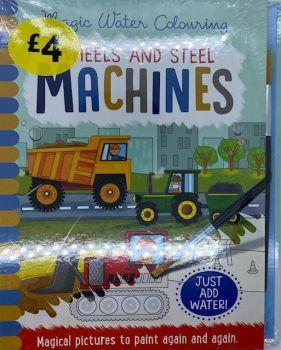 Wheels & Steel Machines Magic Painting