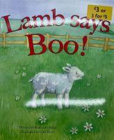 Lamb Says Boo! - Katherine Sully