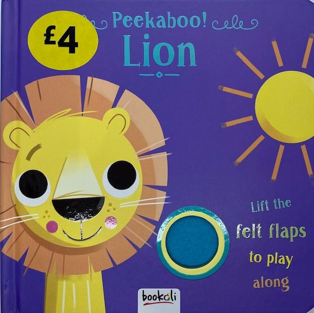 Peekaboo Lion