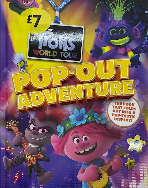 Trolls World Tour, Pop Out Adventure