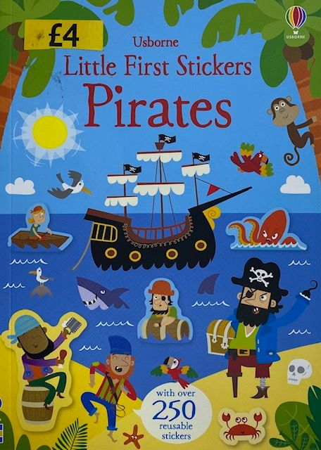 Little First Stickers - Pirates
