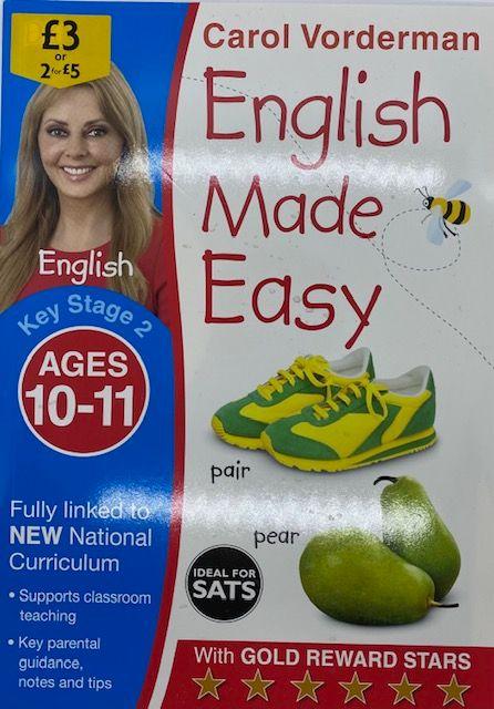 English Made Easy 10-11yrs - Carol Vorderman