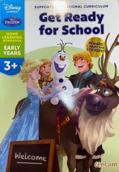Get Ready For School 3yrs+ - Frozen