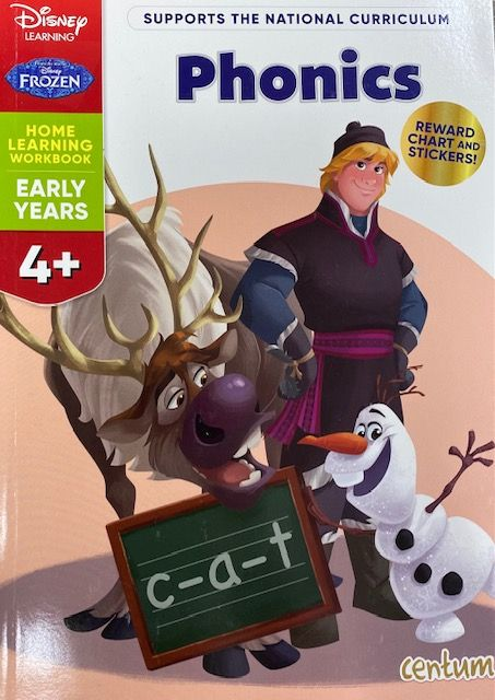 Phonics 4yrs+ - Frozen