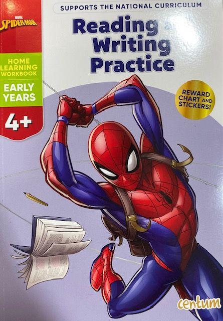 Reading & Writing 4yrs+ - Spiderman