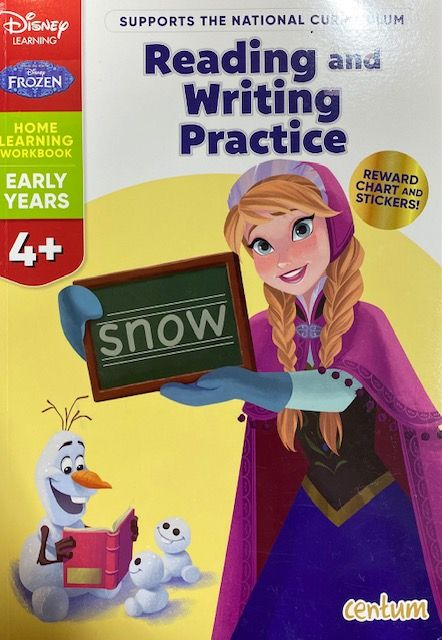 Reading & Writing 4yrs+ - Frozen