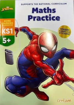 Maths Practice 5yrs+ - Spiderman