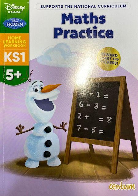Maths Practice 5yrs+ - Frozen