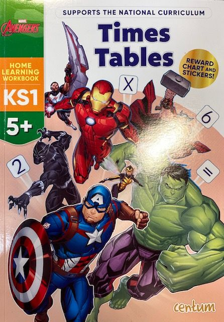 Times Tables 5yrs+ - Marvel