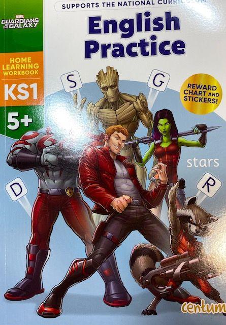 English Practice 5yrs+ - Marvel