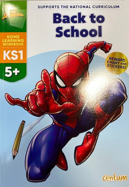 Back To School 5yrs+ - Spiderman