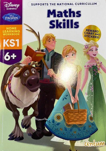 Maths Skills 6yrs+ - Frozen