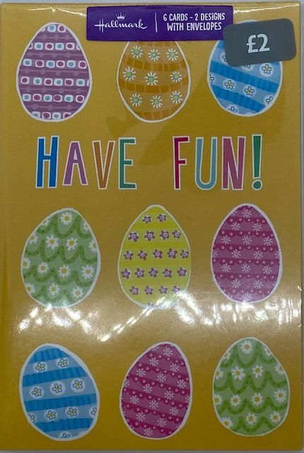 Easter Cards 6pck