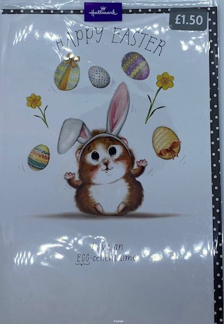 Happy Easter Card - Single
