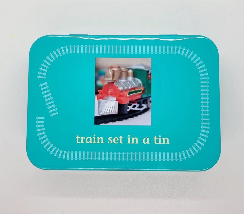 Gift in a Tin - Train Set