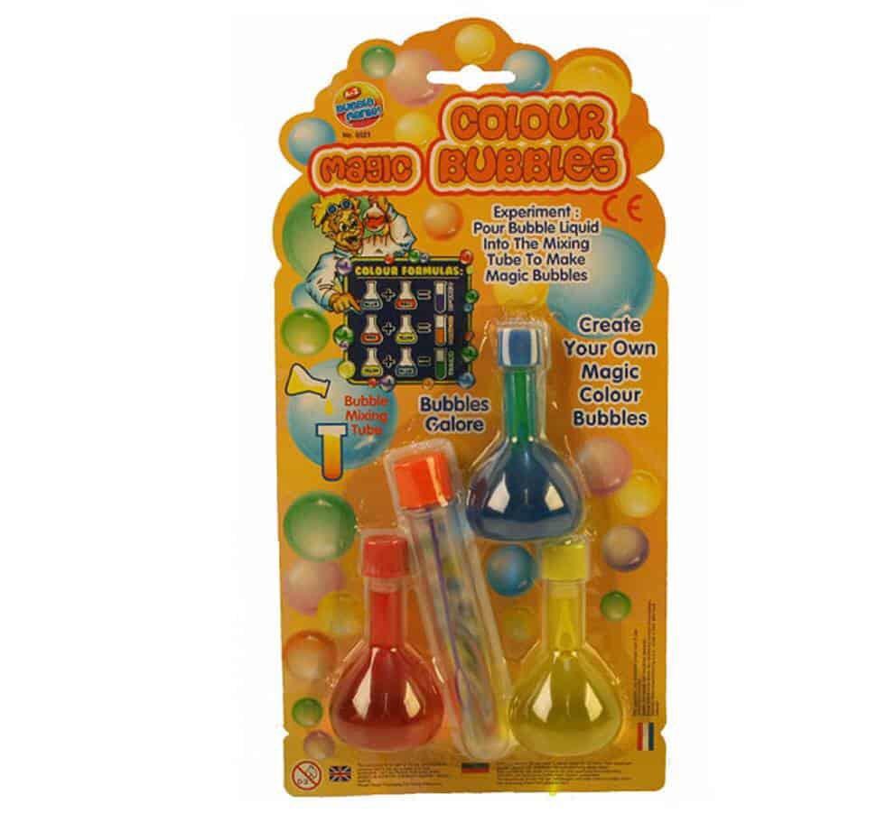 Magic Rainbow Bubbles