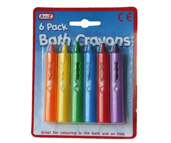 Bath Crayons 6pk