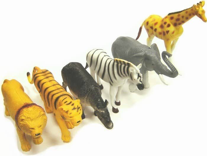 Assorted Wild Animals