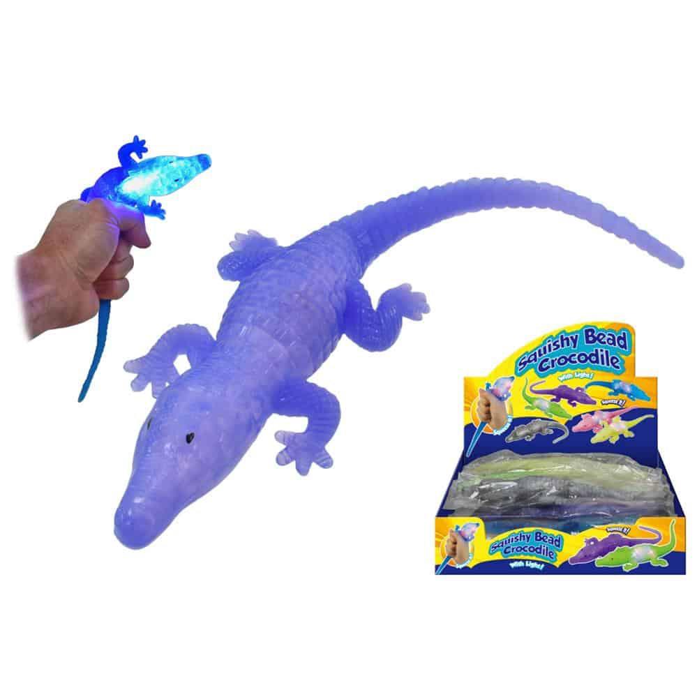 Light UP Squishy Crocodile