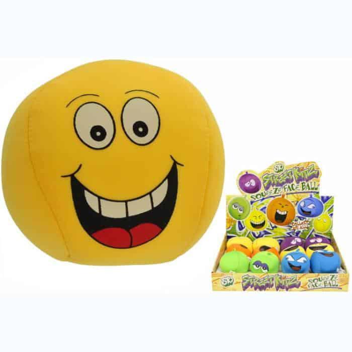 Squeezy Face Ball