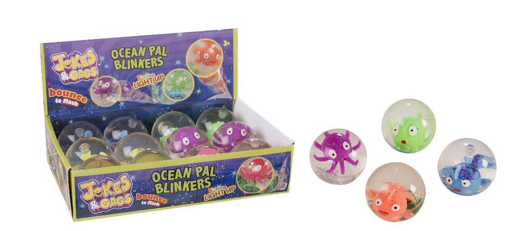 Bouncy Light Up Ocean Ball
