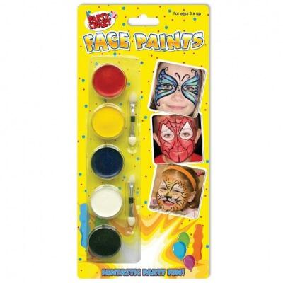 5 Face Paints and Applicators