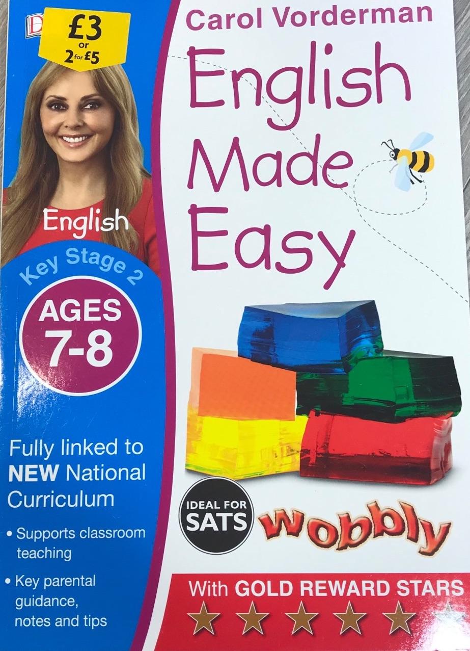 English Made Easy - Carol Voderman 7-8yrs